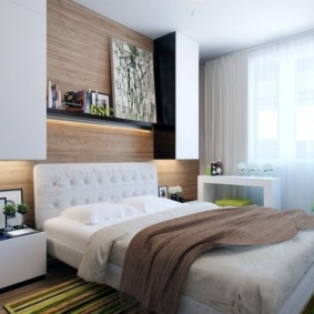 спальня 7 кв м фото декор