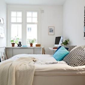 спальня 7 кв м фото декора