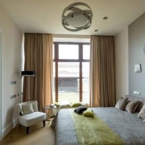 спальня 7 кв м фото дизайн