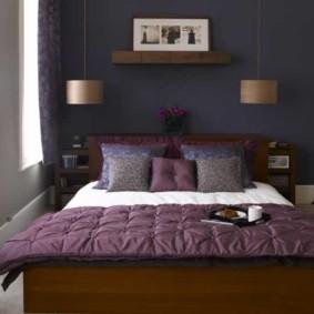 спальня 7 кв м фото дизайна