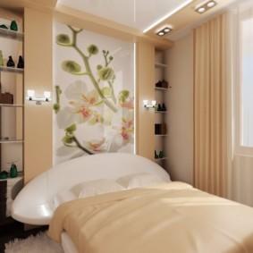 спальня 7 кв м фото идеи