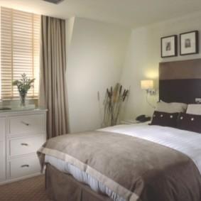 спальня 7 кв м фото интерьер