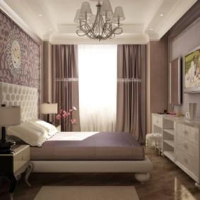 спальня 7 кв м фото оформления