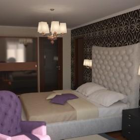 спальня 7 кв м фото варианты