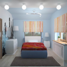 спальня 7 кв м идеи варианты
