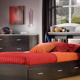 спальня 7 кв м идеи виды