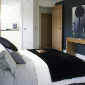 спальня 7 кв м интерьер