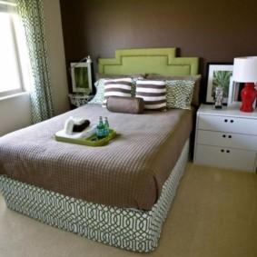 спальня 7 кв м интерьер фото