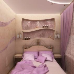 спальня 7 кв м оформление фото