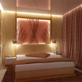 спальня 7 кв м варианты