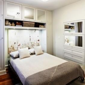 спальня 7 кв м варианты идеи