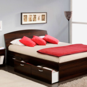 спальня 7 кв м виды декора