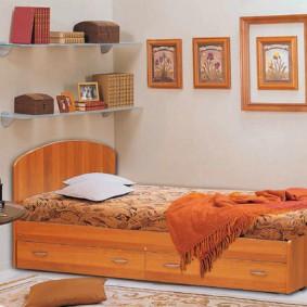 спальня 7 кв м виды дизайна