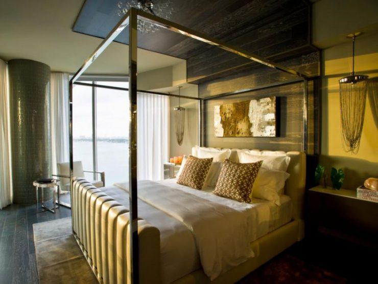 спальня в стиле арт деко интерьер идеи