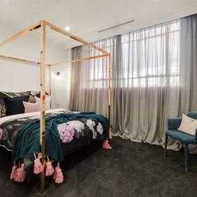 спальня в стиле арт деко варианты интерьера