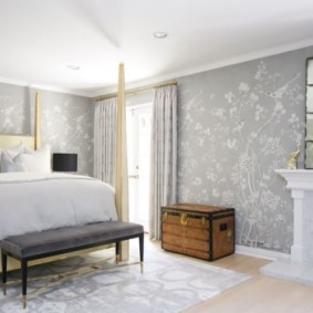 спальня в стиле арт деко виды интереьра