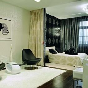спальня гостиная 17 кв м фото