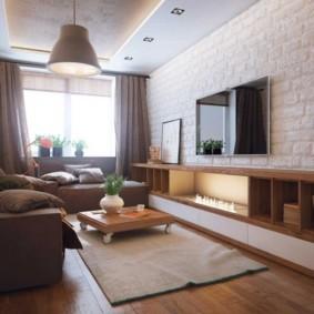 спальня-гостиная 18 кв.м. идеи дизайна