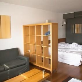 спальня-гостиная 18 кв.м. идеи видов