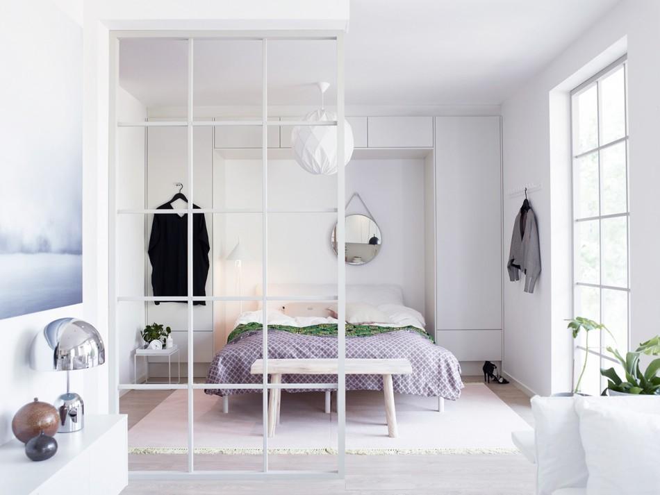 спальня-гостиная 18 кв.м. интерьер идеи