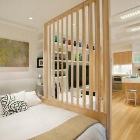 спальня-гостиная 18 кв.м. оформление идеи
