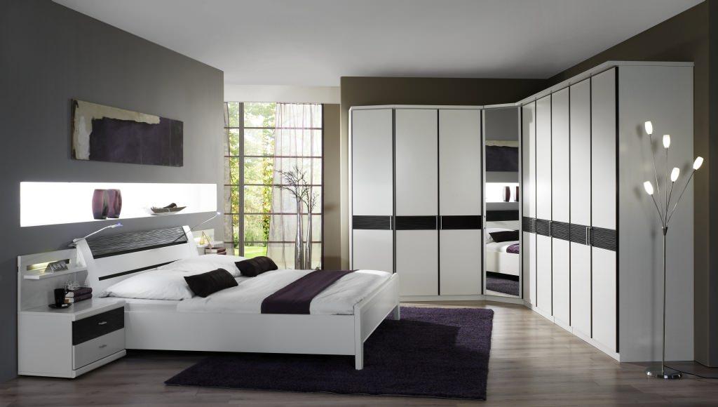 спальня с угловым шкафом купе виды идеи
