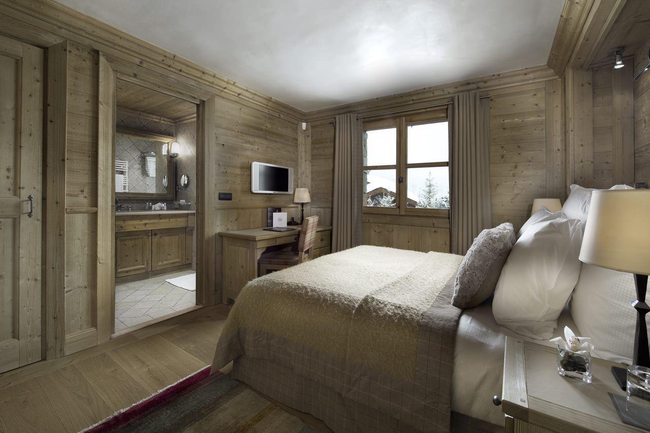 спальня в стиле шале дизайн фото