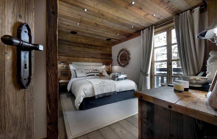 спальня в стиле шале идеи