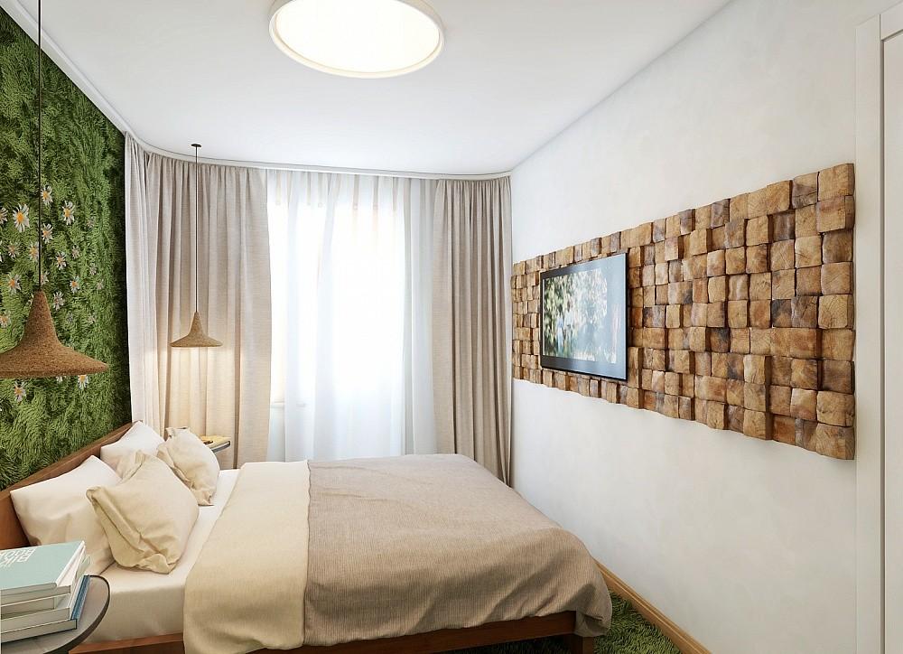 эко дизайн спальни 12 кв м