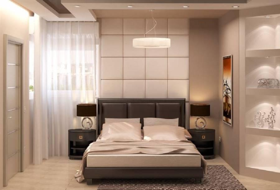 спальня в коричневых тонах фото дизайна