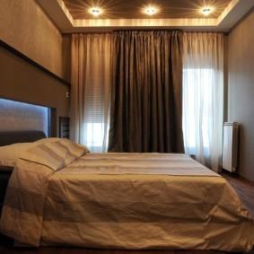 спальня в коричневых тонах идеи дизайна