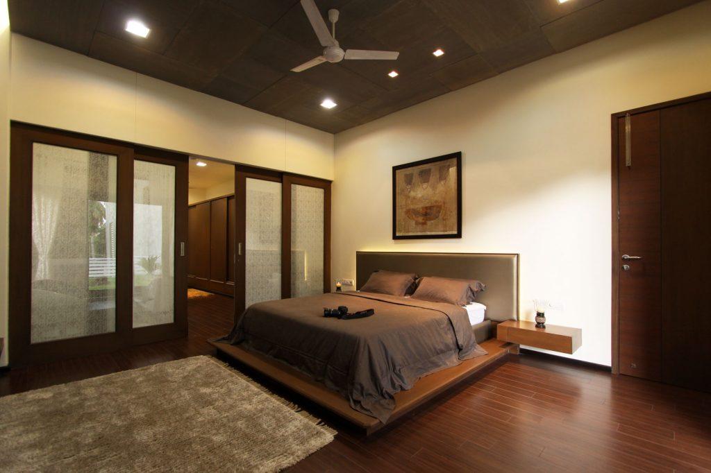 спальня в коричневых тонах виды дизайна