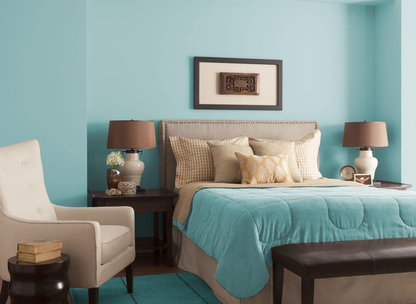 спальня в коричневых тонах декор фото