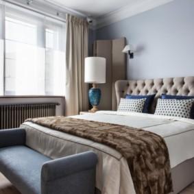 спальня в коричневых тонах идеи декора