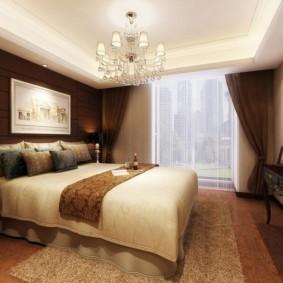 спальня в коричневых тонах идеи оформление