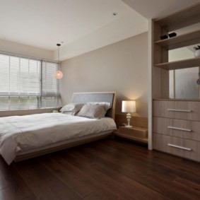 спальня в коричневых тонах виды