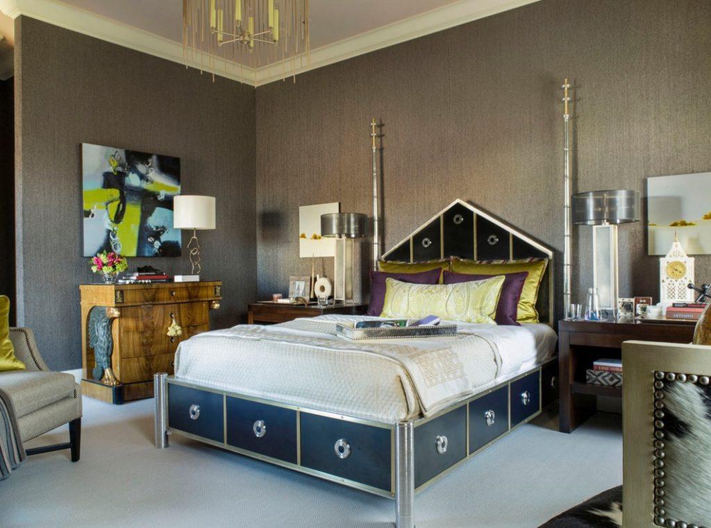 спальня в стиле арт деко декор идеи