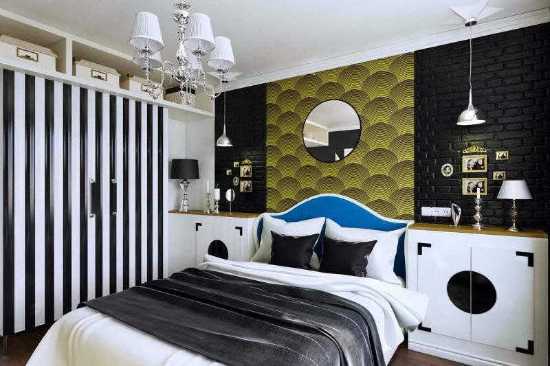 спальня в стиле арт деко фото декора