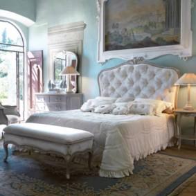 спальня в стиле арт деко фото интерьера