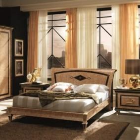 спальня в стиле арт деко идеи видов