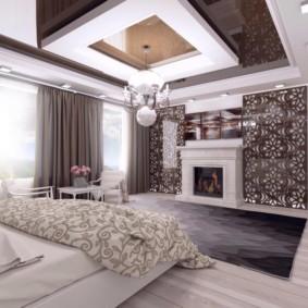 спальня в стиле арт деко интерьер фото