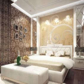 спальня в стиле арт деко оформление