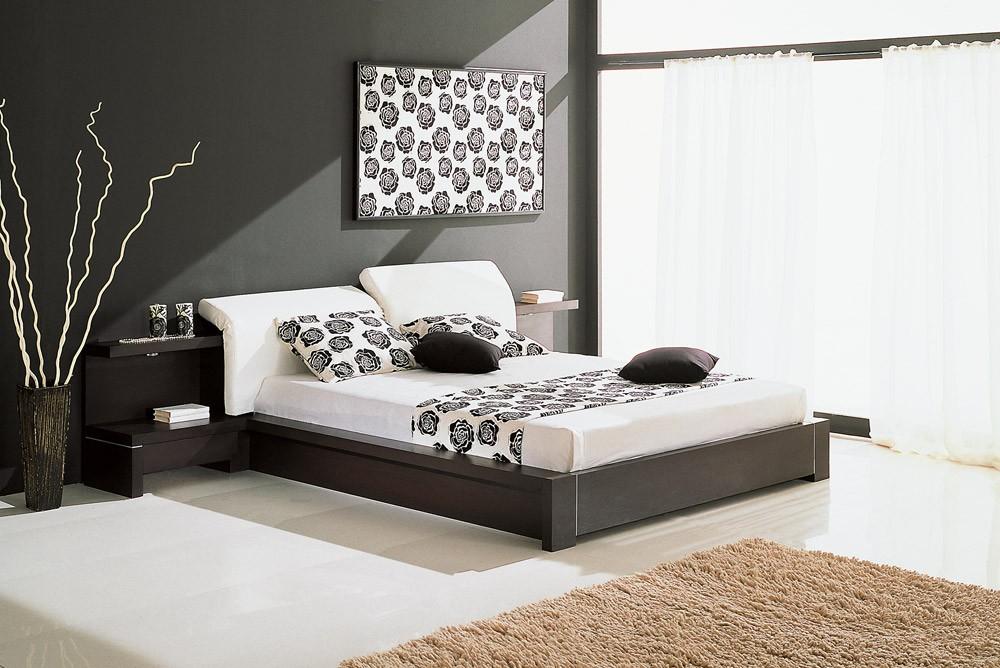 спальня в стиле хай тек декор фото