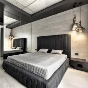 спальня в стиле хай тек фото декор