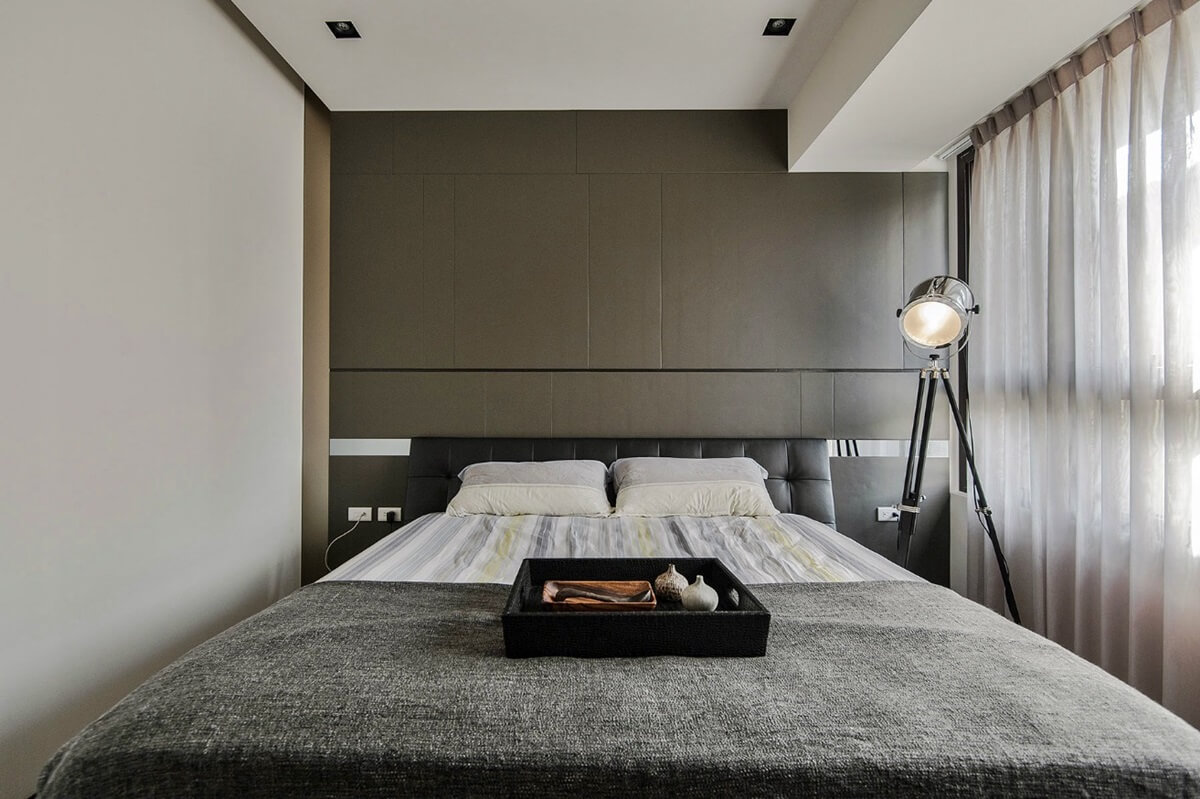 спальня в стиле хай тек фото декора