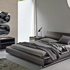 спальня в стиле хай тек фото дизайн