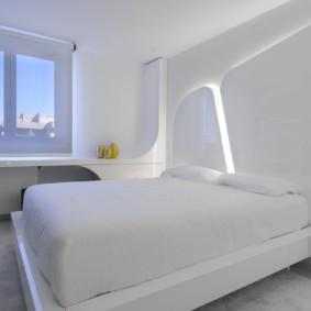 спальня в стиле хай тек фото обзор