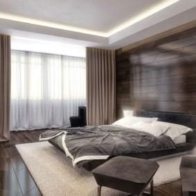 спальня в стиле хай тек фото оформление