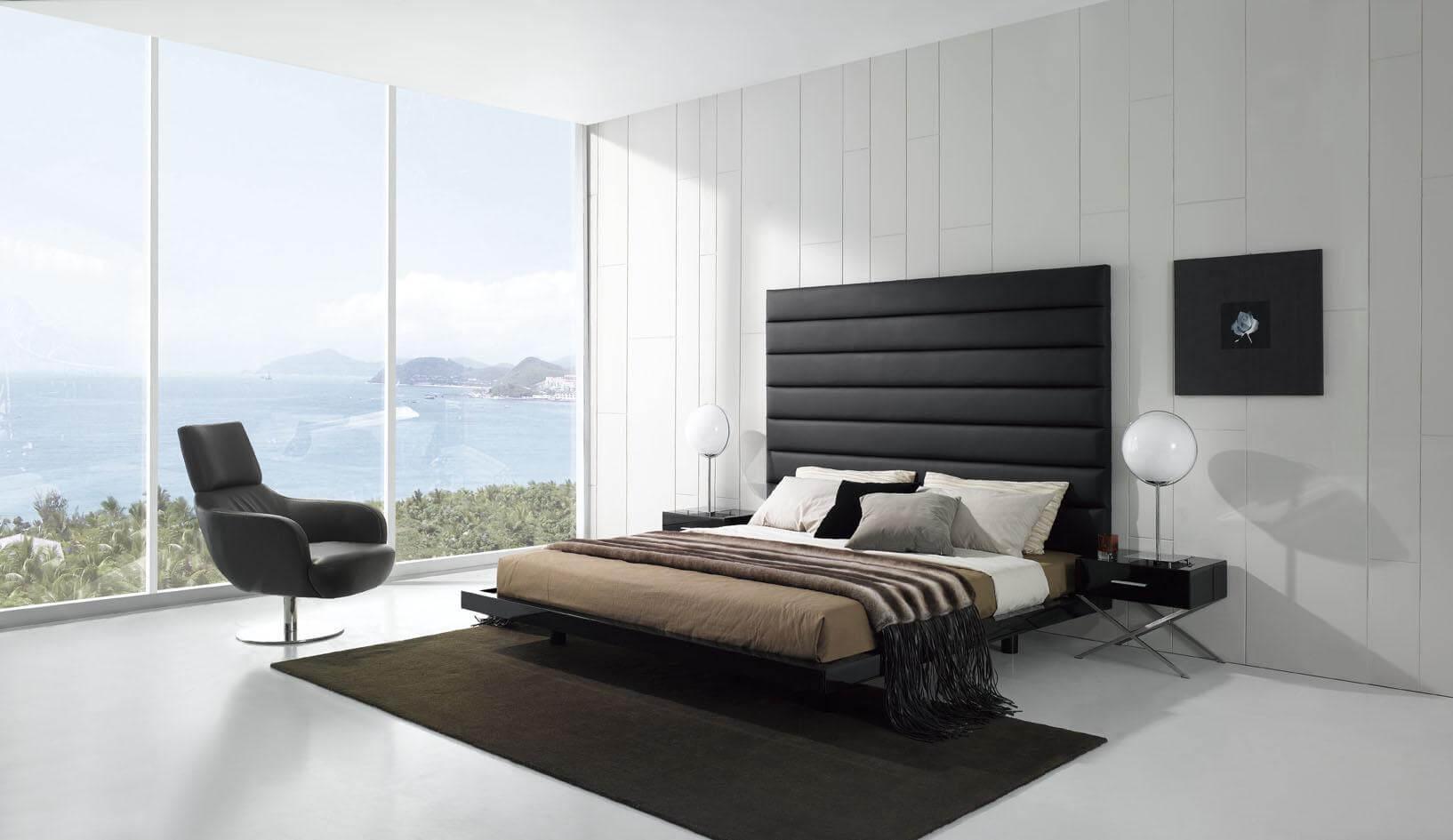 спальня в стиле хай тек фото видов