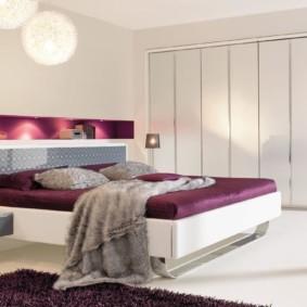 спальня в стиле хай тек фото виды